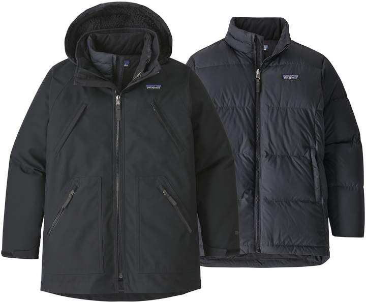 7de7da64187b Patagonia Tres Water Repellent 3-in-1 Recycled Down Parka
