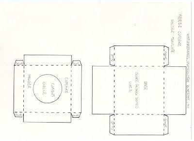 Printable cupcake template | cupcake template, cupcake invitations.