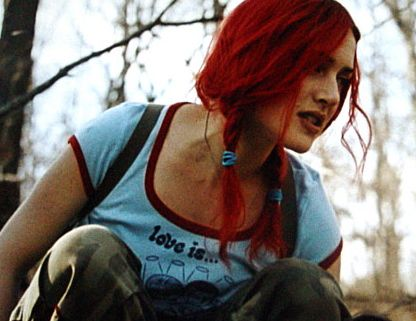 kate winslet as clementine in eternal sunshine of the