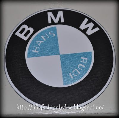 BMW card made by me  lillefashion.by.lise