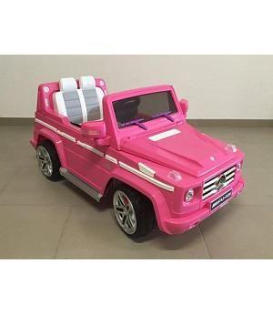 Venta Coche Bateria 12v Infantil Mercedes Rosa Rc G55 With Images