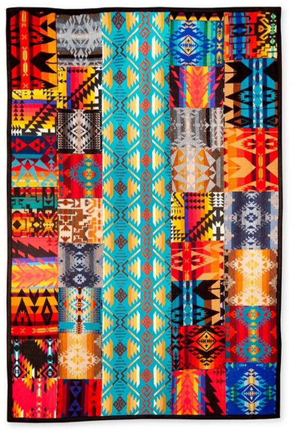 Ta Dah!: Pendleton scrap quilt | Patchwork, Scrap and Nifty : pendleton quilts - Adamdwight.com