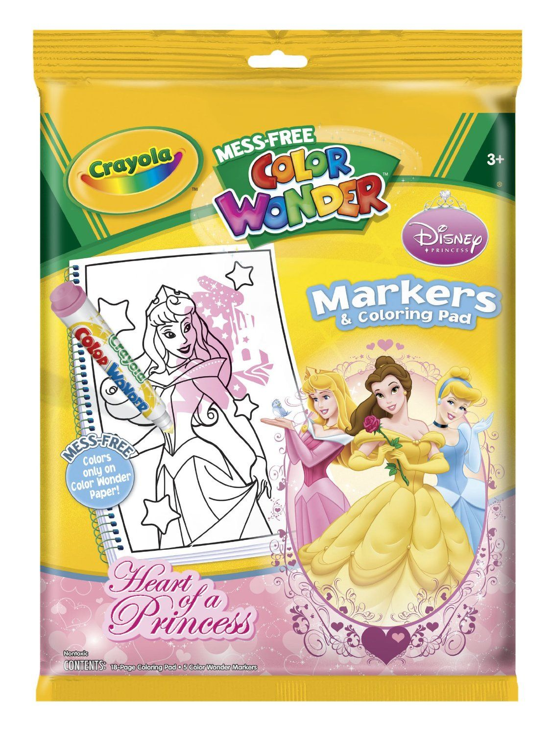 Coloring Book With Magic Marker