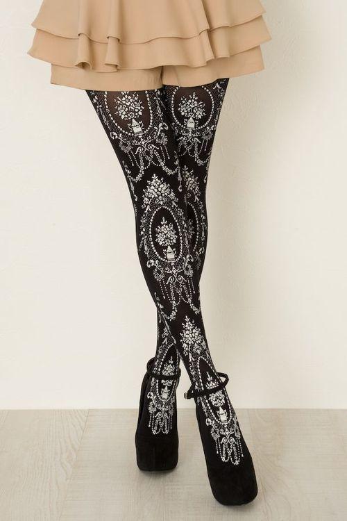 89d1e245a29 I love patterned tights. Sadly