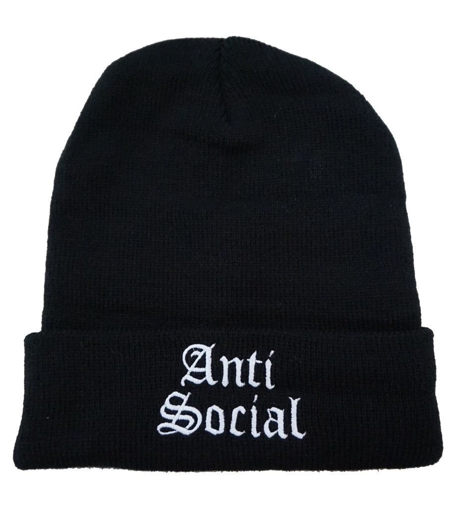 Anti Social Beanie (SOLD OUT) #beanies
