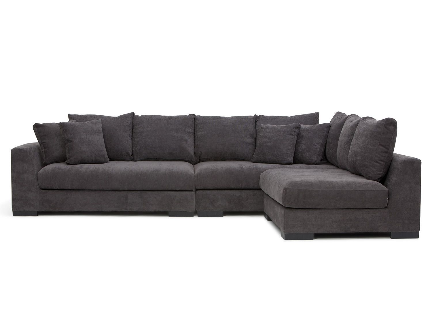 Structube Living Room : Sectional Sofas : Cooper (Charcoal