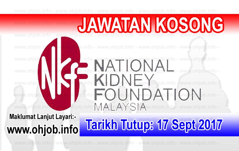 Jawatan Kosong Terkini Yayasan Buah Pinggang Kebangsaan Malaysia Nkf Jawatan Kosong Terkini