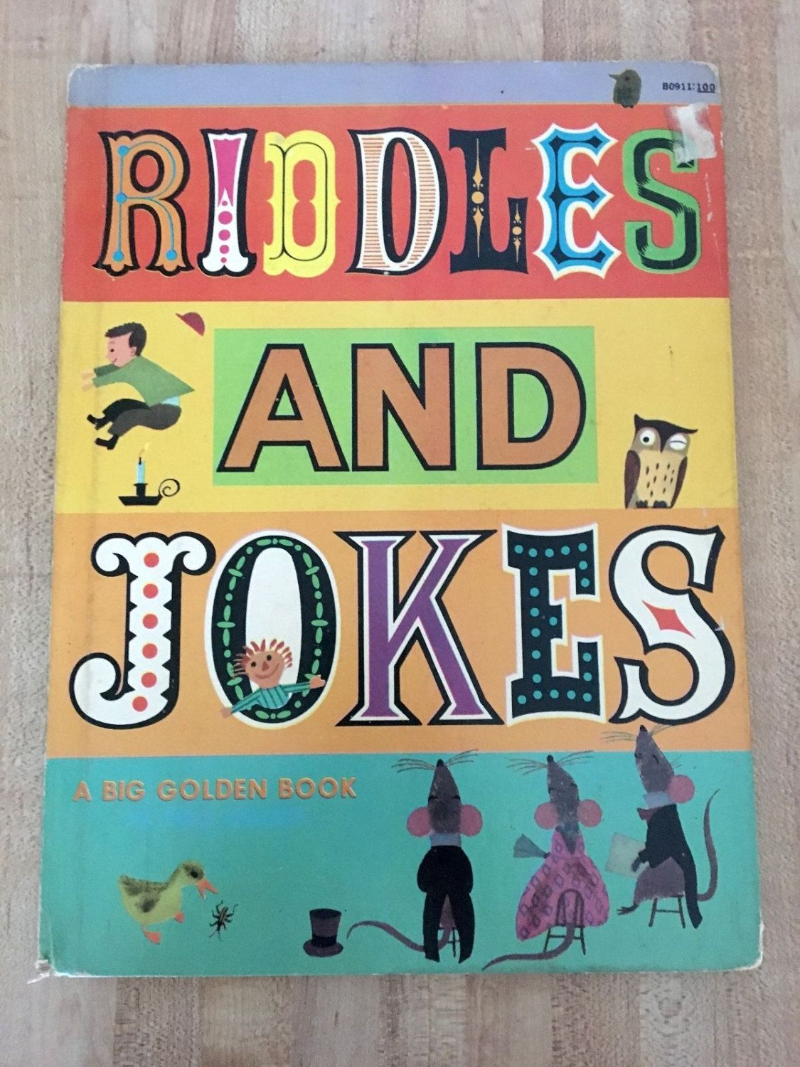 Riddles and Jokes by Gertrude Crampton a Children's