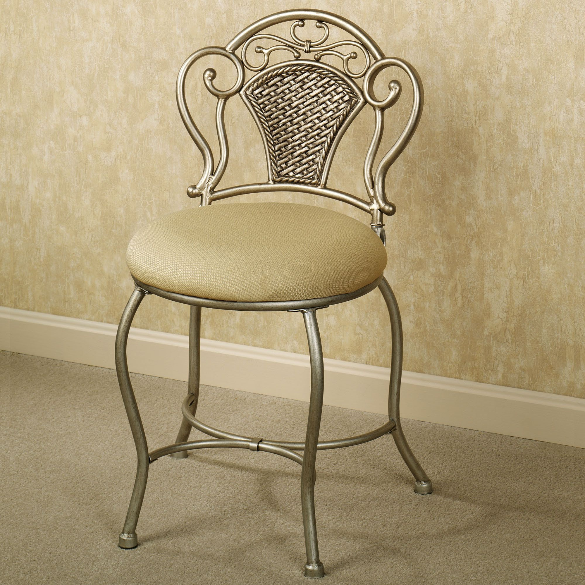 Tayla Vanity Chair With Images Vanity Chair Vanity Seat