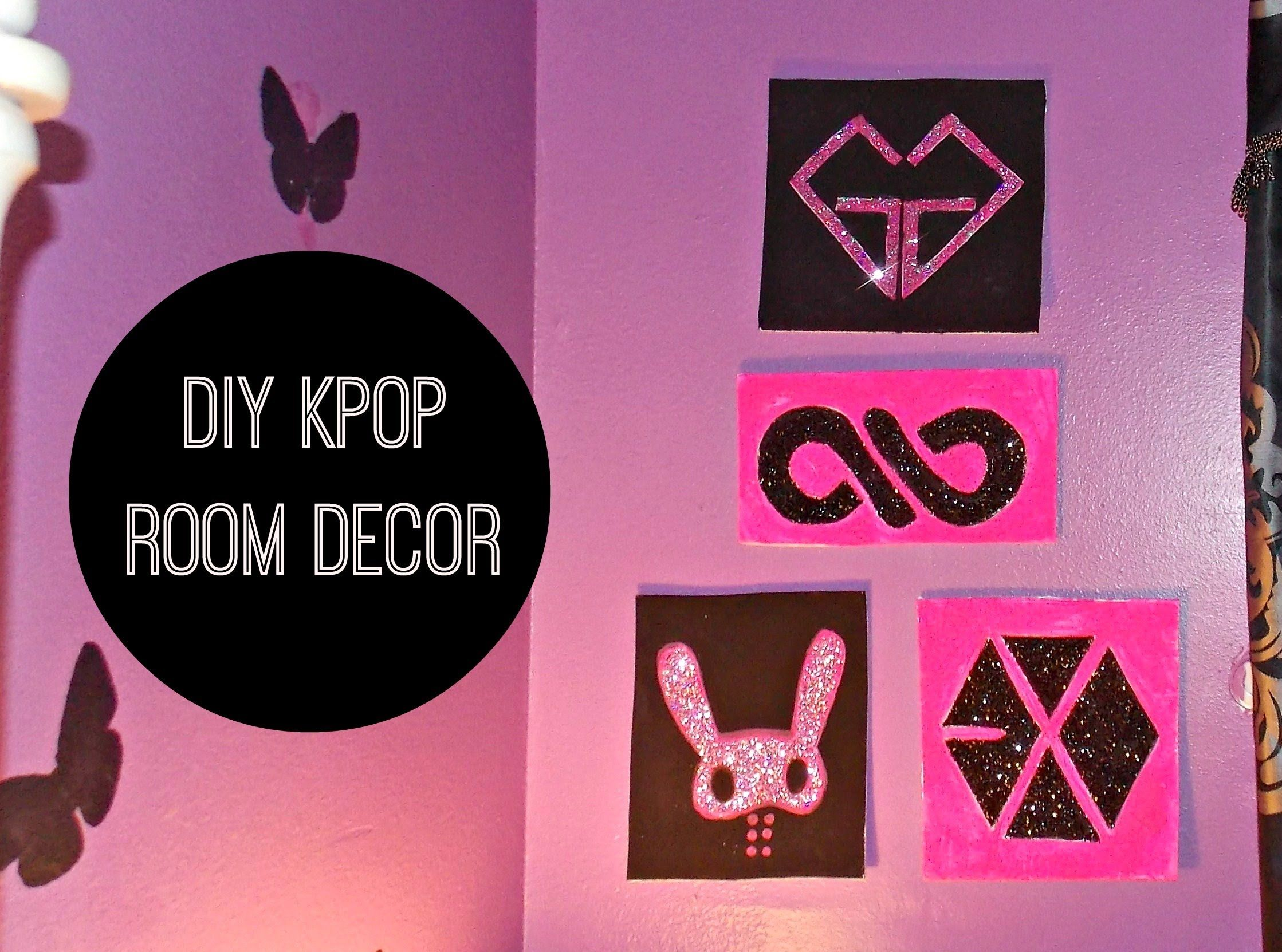 DIY K-POP Room Decor Wall Art | kpop crafts and ideas ...