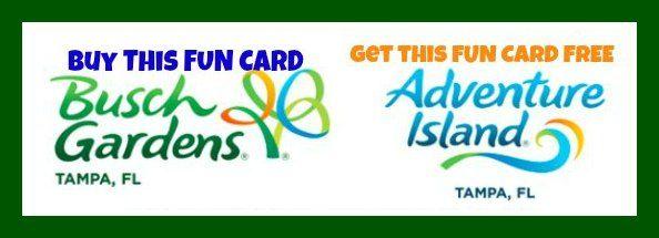 Busch Gardens Fun Pass Adventure Island