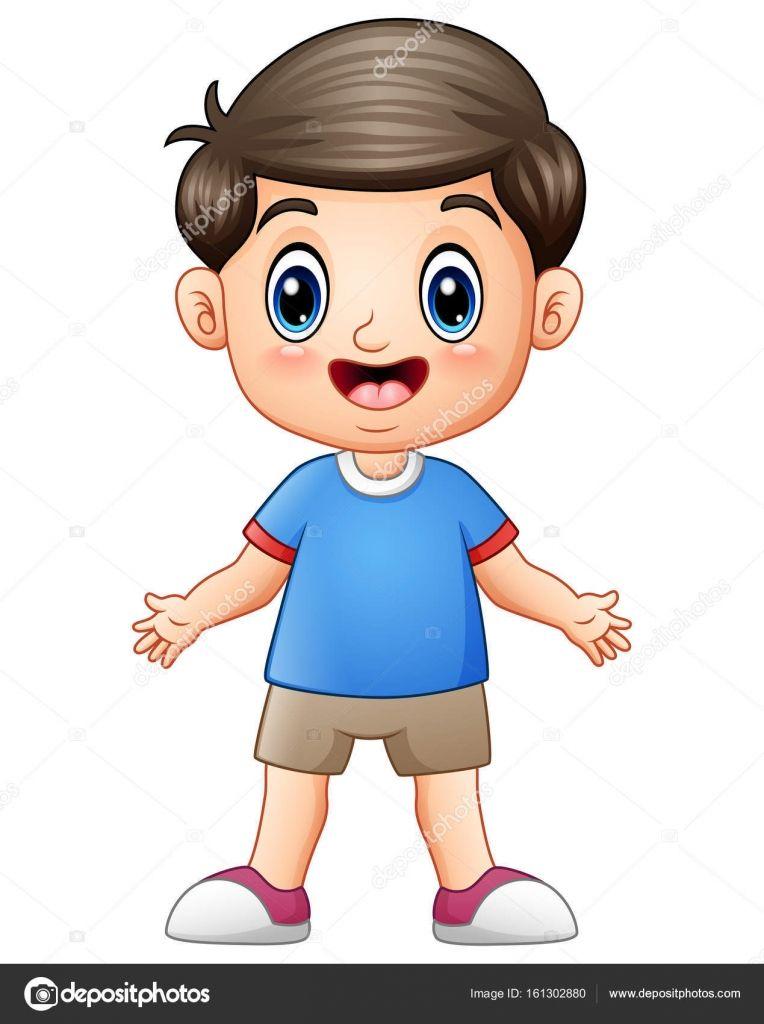 Resultado De Imagen Para Imagen De Un Niño Animado Partes De La