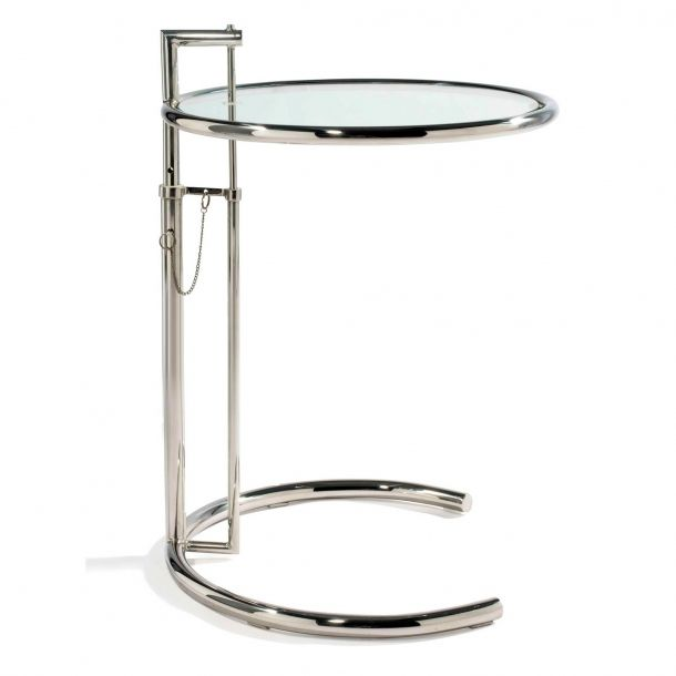 Eileen Gray Tisch eileen gray side table chrome memoky com coffee table cocktail