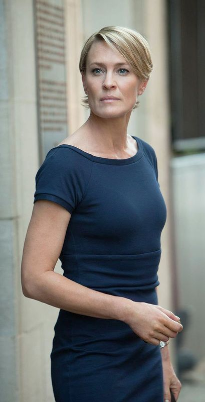 House Of Claire Robin Wright Hair Robin Wright Claire Underwood