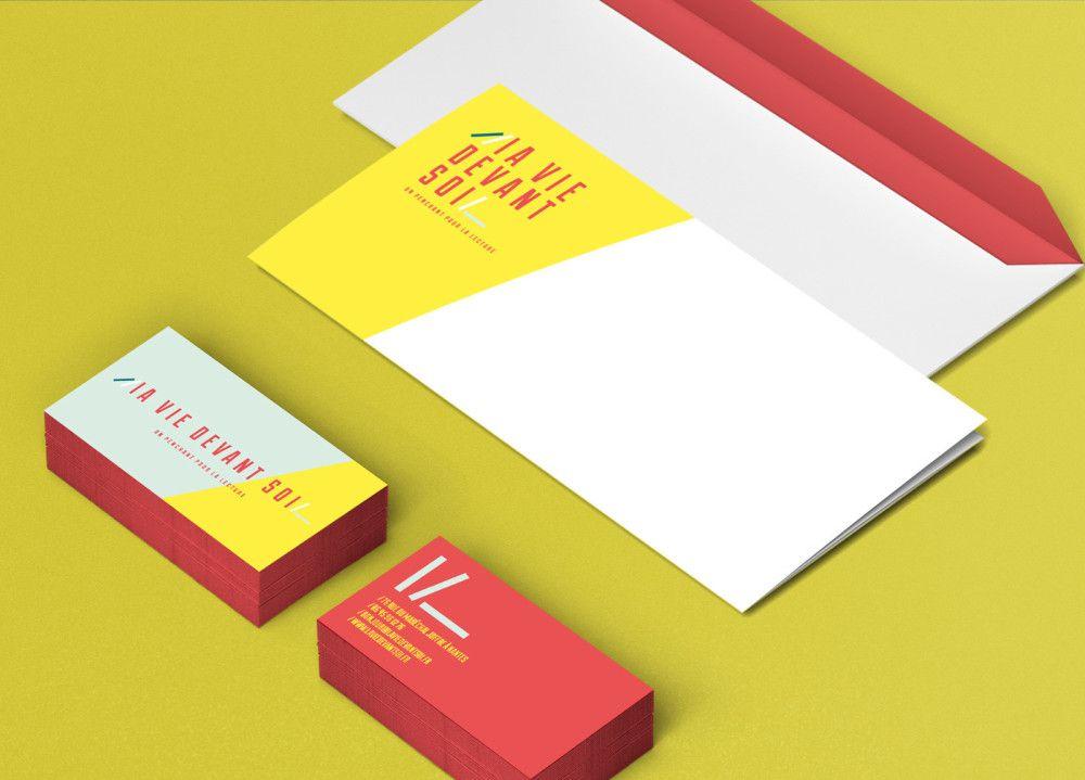 La Vie Devant Soi Librairie Proposition D Identite Visuelle Non Retenue Pour Une Toute Nouvelle Librairie Nantaise Librairie Si Librairies Startup La Vie