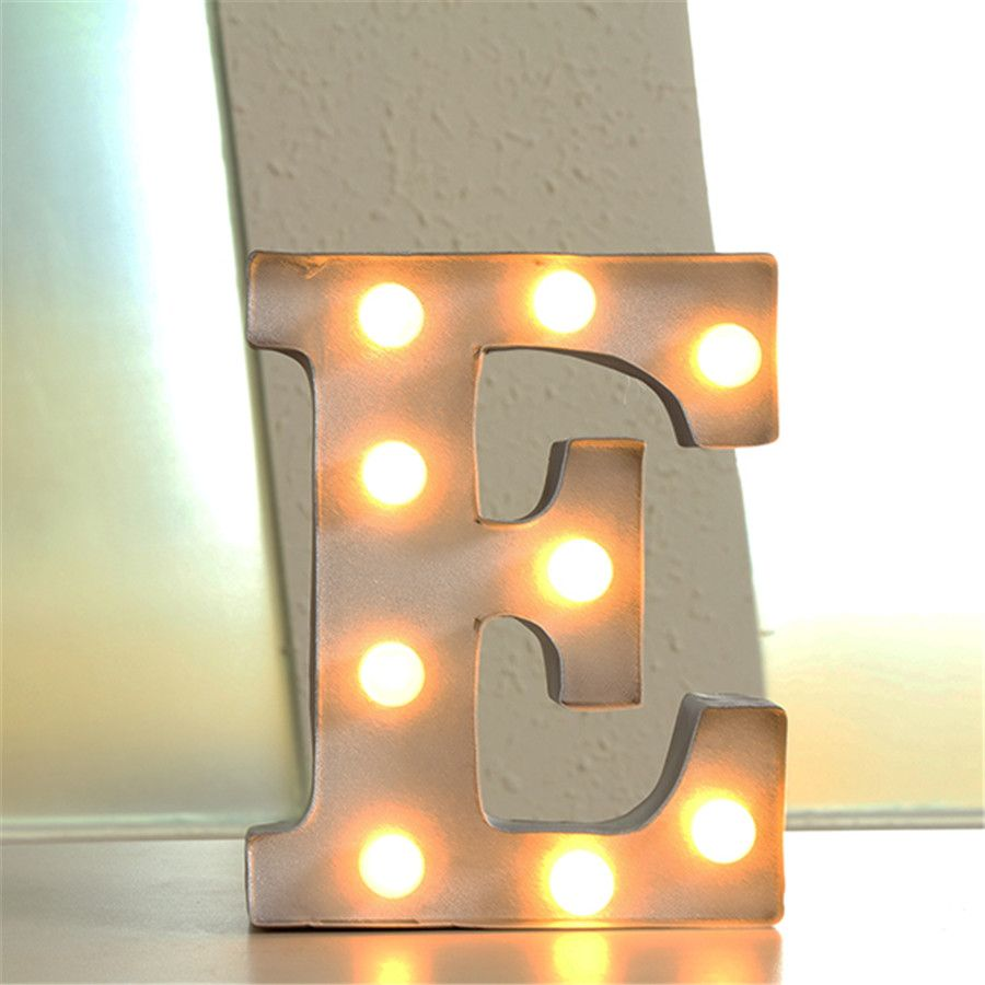 "Cheap Metal Letters For Wall Extraordinary Find More Novelty Lighting Information About 12"" Metal Letters Inspiration Design"