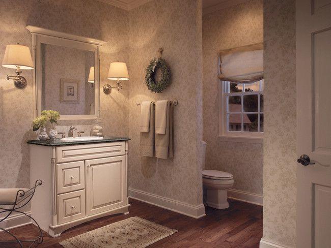 Kraftmaid S Console Vanity For The Bathroom Looks Like Furniture