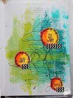 Andrea Walford via Ronda Palazarri blog artilce: Art Journal Conversations