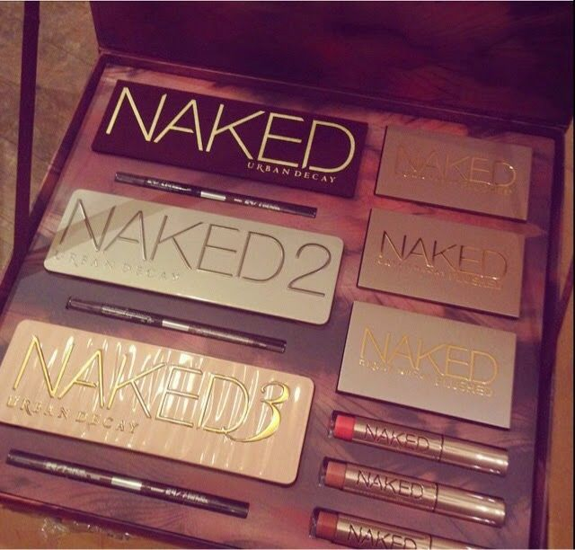 all the naked palettes in a gift set | Urban Decay: NAKED VAULT ...