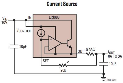 Voltage regulator for linear constant current (1 5a) led driver