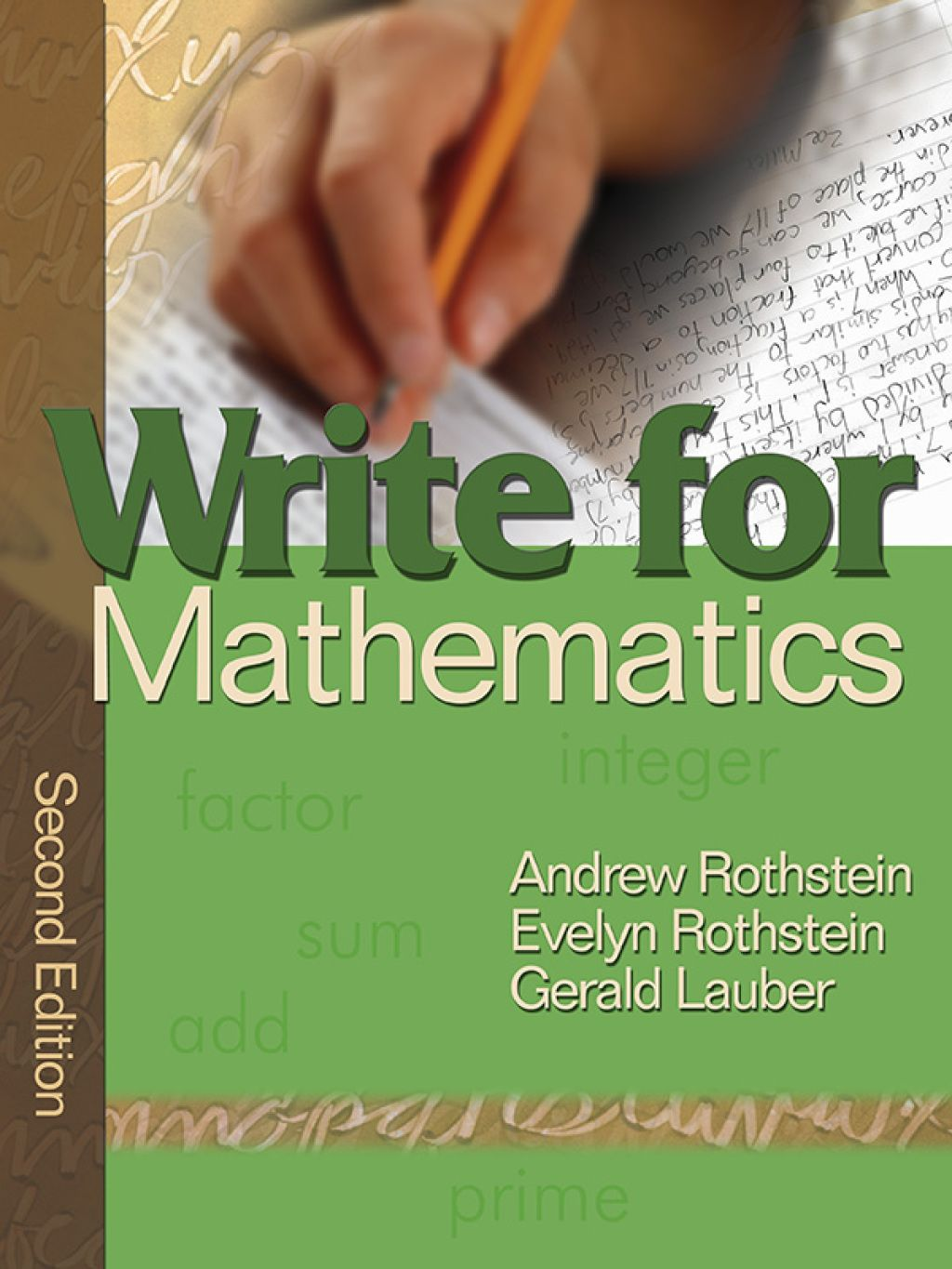 Write For Mathematics Ebook Rental