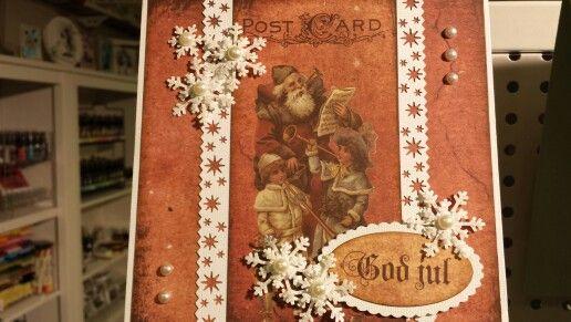 Christmascard Camelia