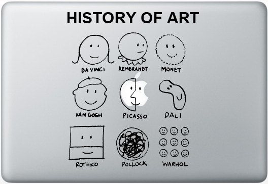 Art history macbook decal whenever i get new one