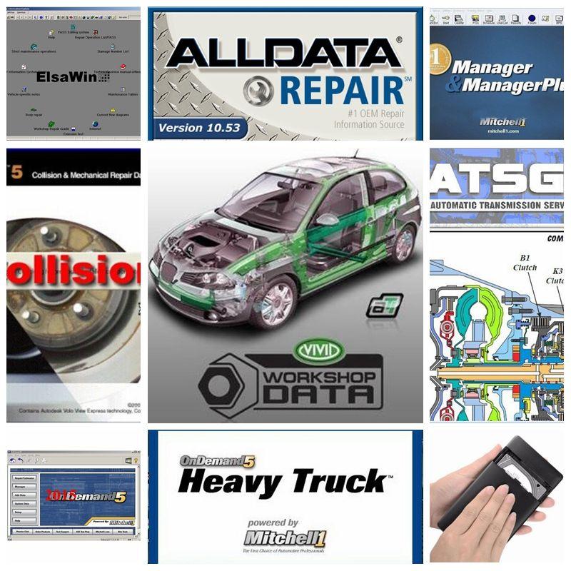 New 26 Alldata Software Programs V10.53 Auto Repair