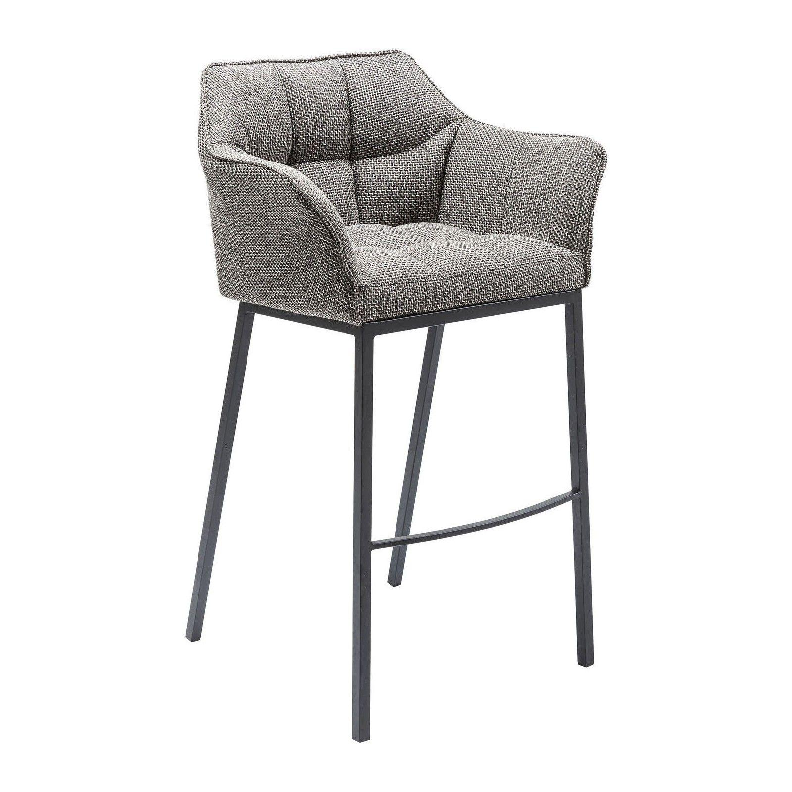 Tabouret de bar thinktank quattro gris kare design en 2020 Table haute avec tabouret pour cuisine