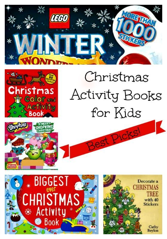 Best Christmas Activity Books For Kids For 2016 For The Christmas