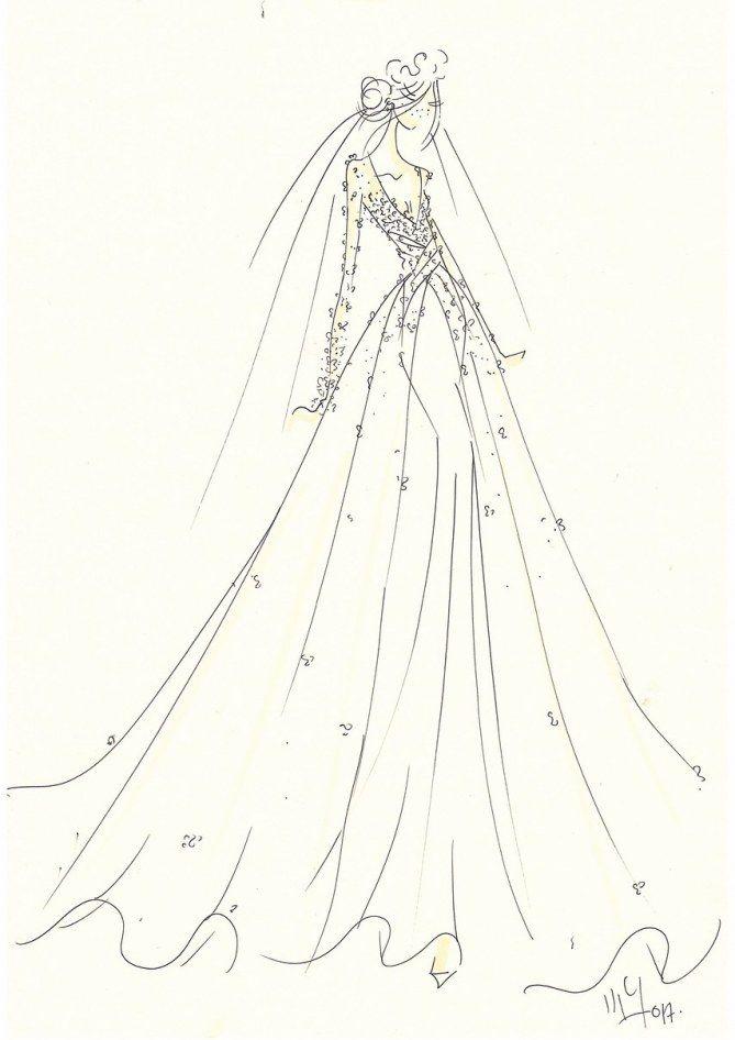 Voici à quoi pourrait ressembler la robe de mariée de Meghan Markle