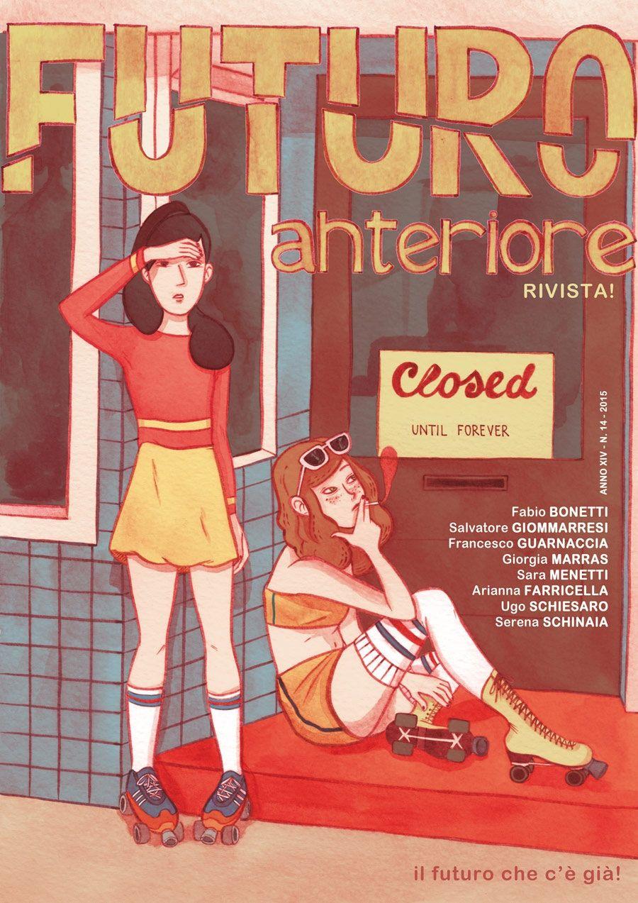 Cover for Futuro Anteriore, Napoli Comicon, by Giorgia Marras http://www.fumettologica.it/galleria/futuro-anteriore-2015-copertine/nggallery/image/futuroant3
