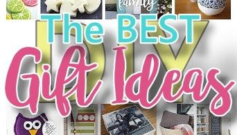 The BEST Do it Yourself Gifts – Fun, Clever and Unique DIY Craft Projects and Ideas for Christmas, Birthdays, Thank You or Any Occasion