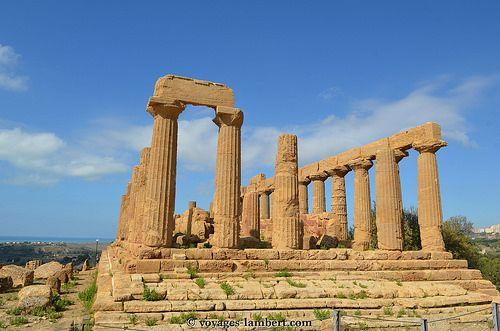 Temple Junon - Agrigente www.voyages-lambert.com