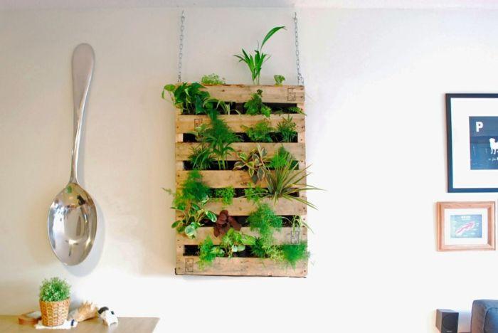regal selber bauen pflanzen wohnideen Izoum Pinterest