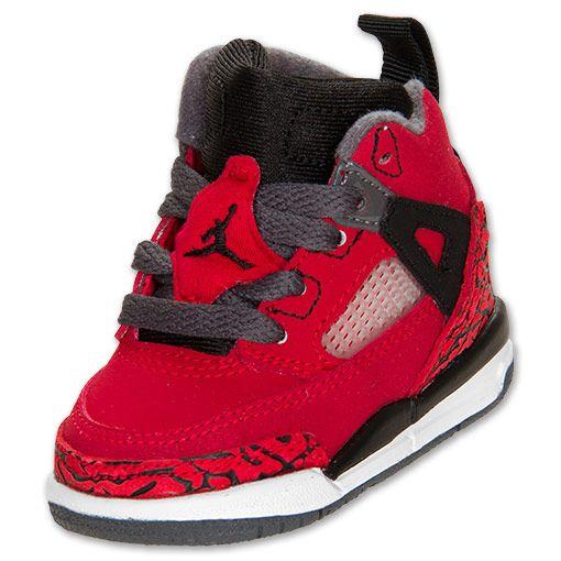 huge discount 6a0e4 cc05e Jordan Toddler Spizike Basketball Shoe   FinishLine.com   gym red black dk  grey wht