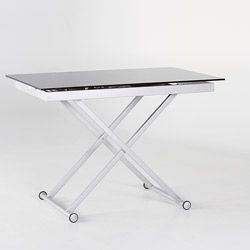 Overstock This Functional Rectangle Shape Dining Table Can Be - 17 inch high coffee table
