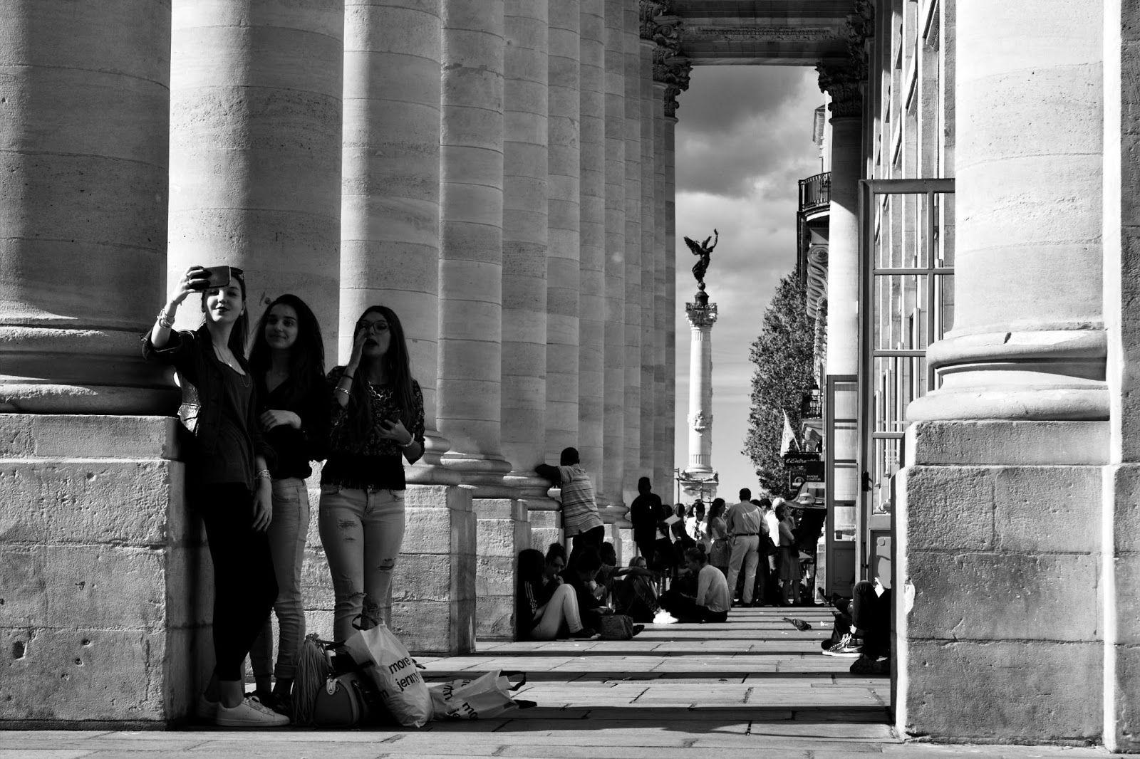 L'autre image de Bordeaux: Selfie time