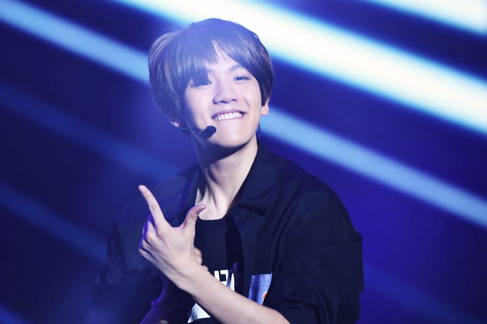 Baekhyun aka the 23 year old with 3 year olds face