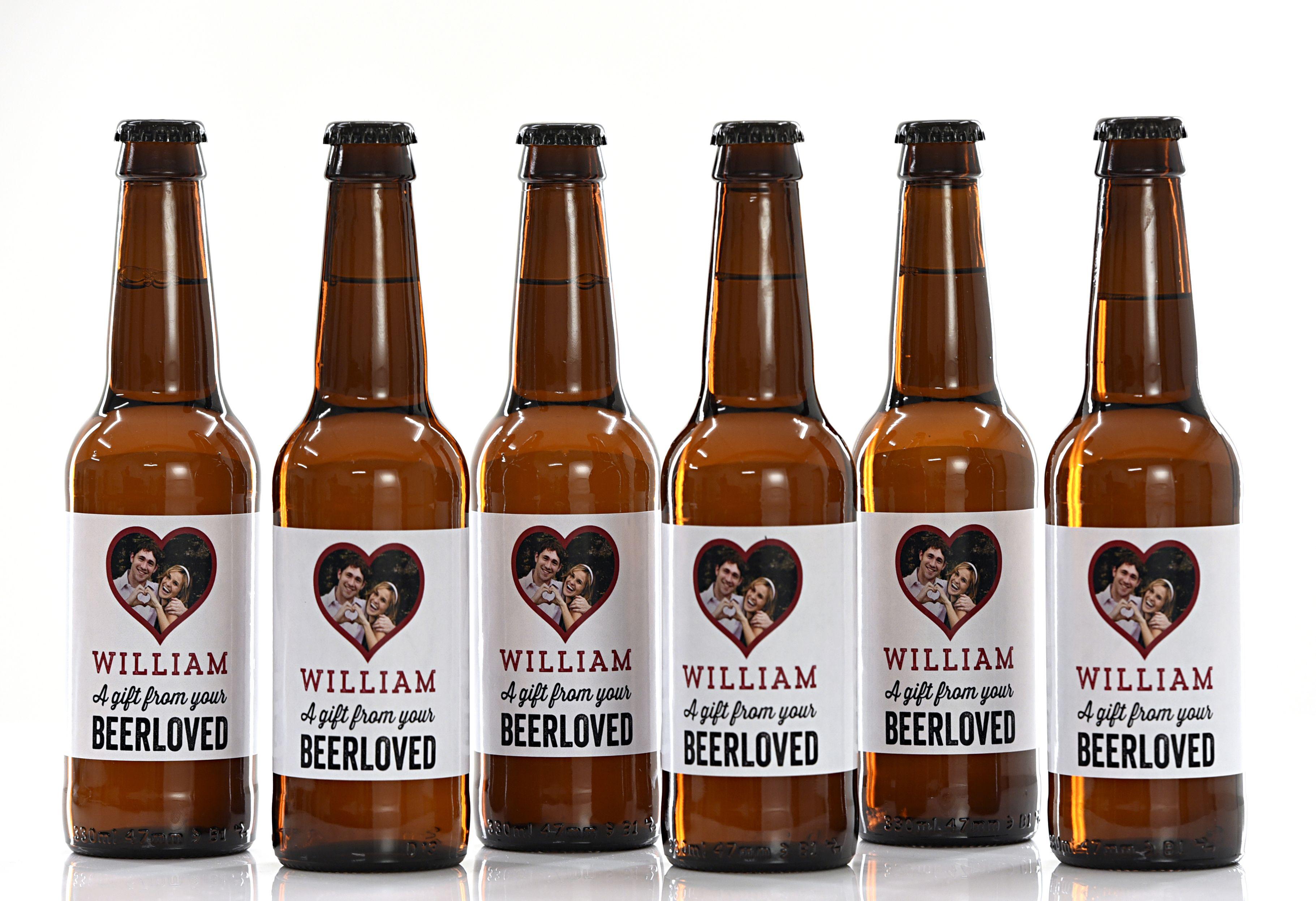 18 pack 21 pack 30 pack personalised lager british beer