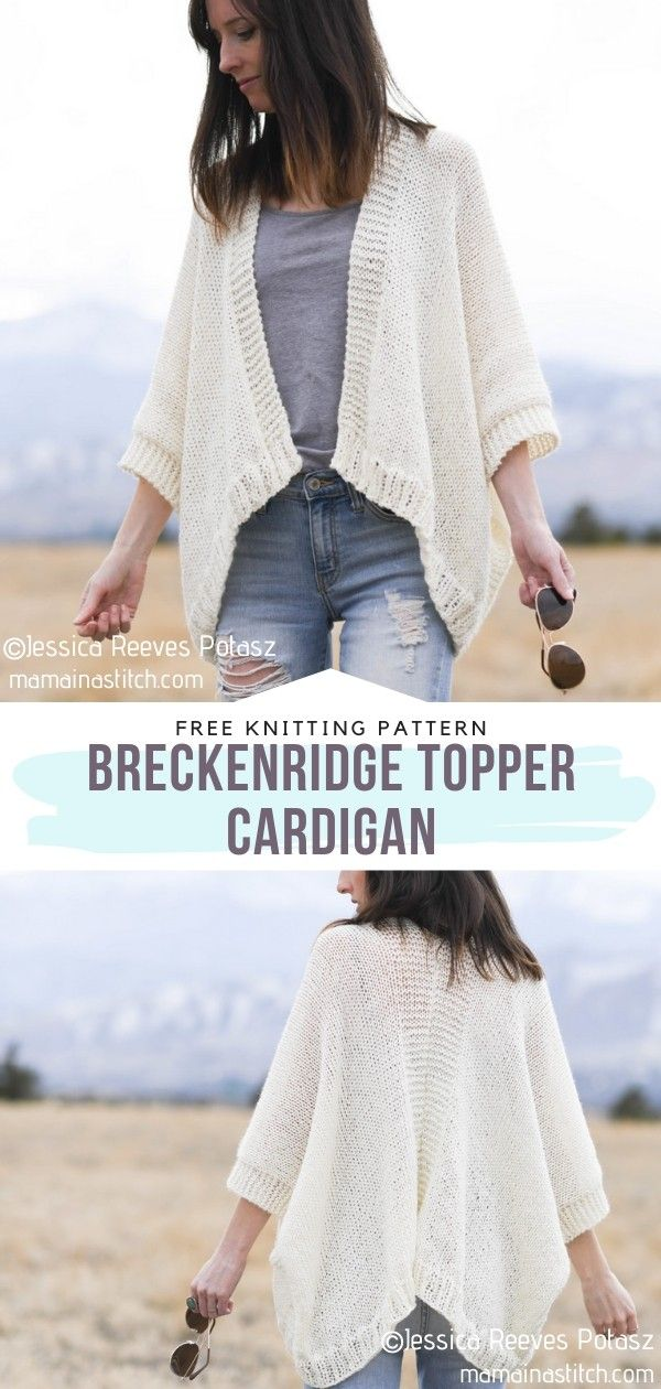 How to Knit Breckenridge Topper Cardigan