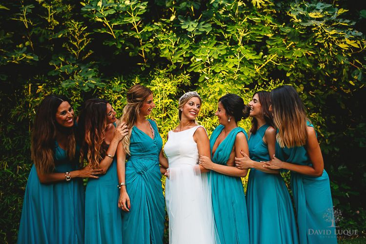 Boda en Palacio Monte Miramar – Malaga – Bride & Bridesmaids