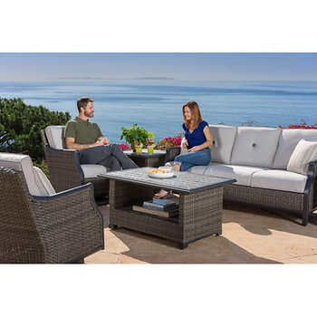 Lago Brisa 6 Piece Deep Seating Set Costco 2499 Sale Price Until