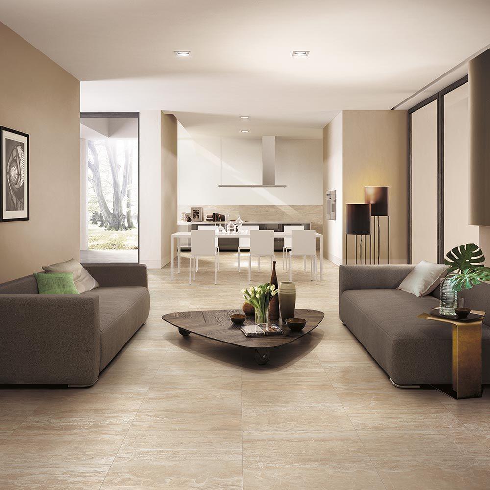 Corso italia impero champagne marble look porcelain tile home
