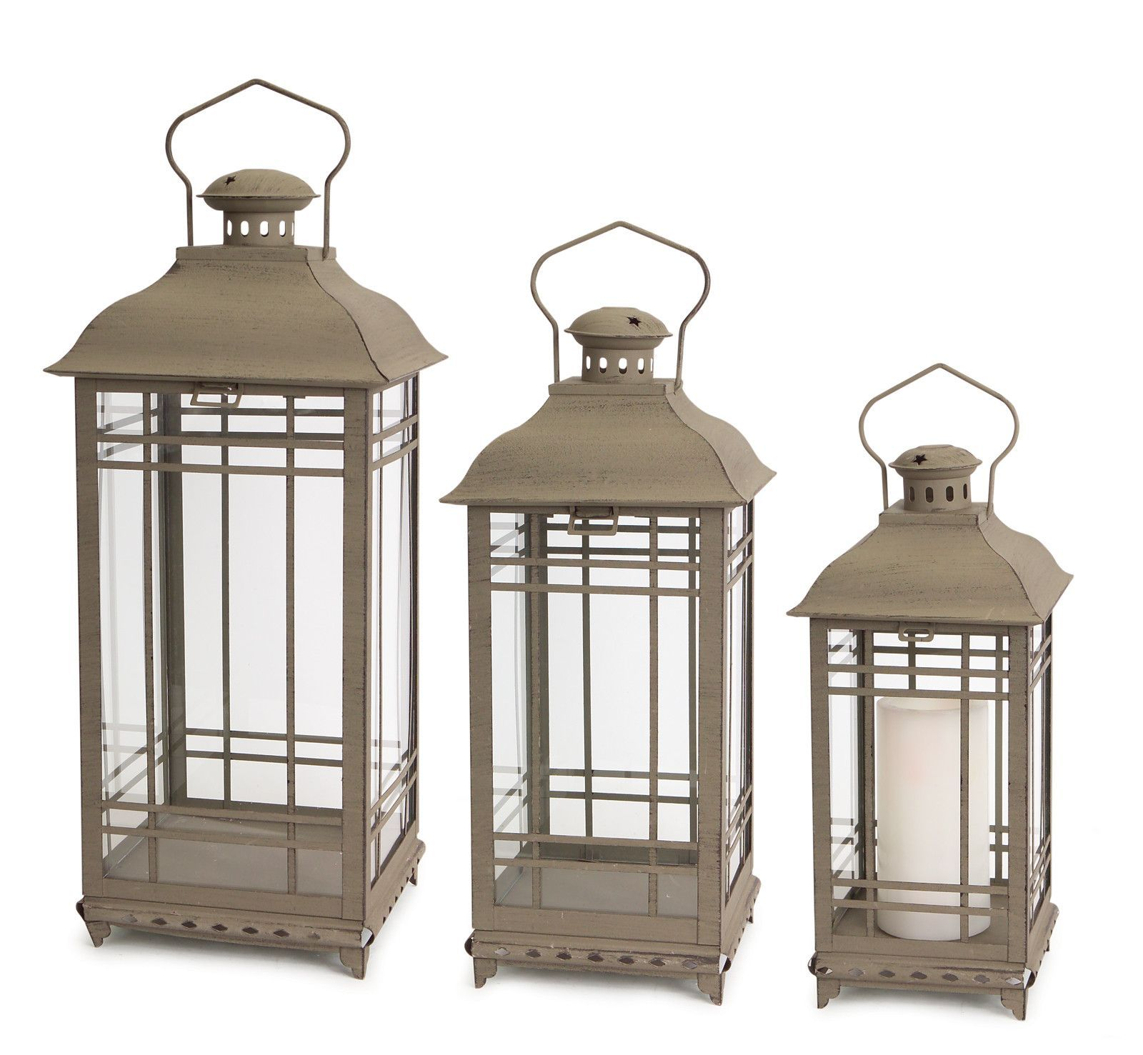 Park Avenue Collection Lantern (Set of 3)