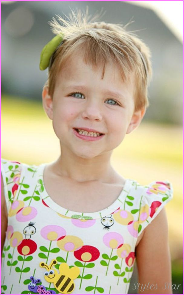 Awesome Little Girls Short Haircuts With Bangs Hair Pinterest