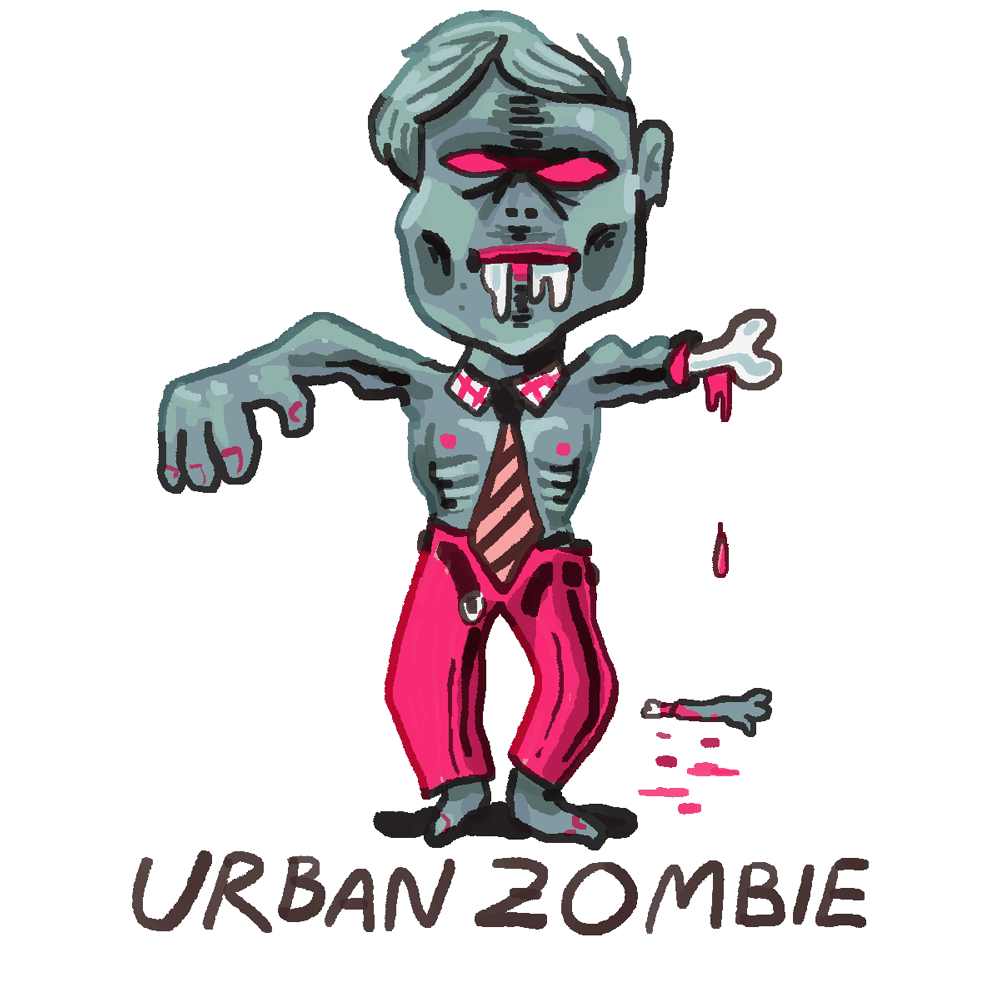 Earthbound Battle Sprites   Zombies Zombies and more zombies