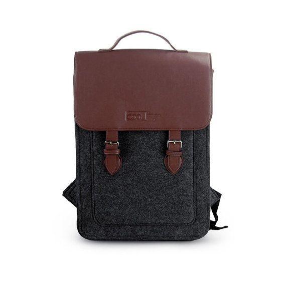 94f9433f14d4 Big promotion Felt Backpack for Macbook Pro 15
