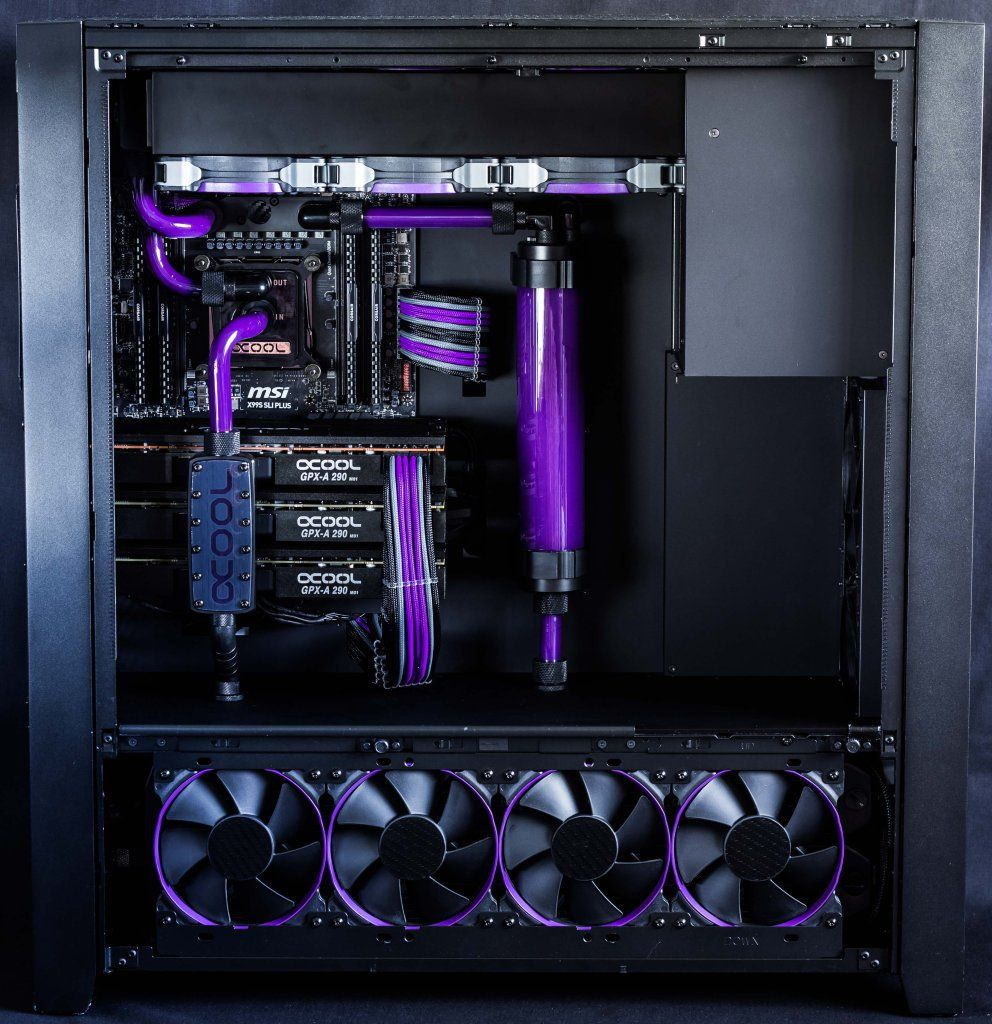Project Erebus Ultimate 4k Gaming Pc By Custom Gaming Computer Gaming Computer Custom Pc