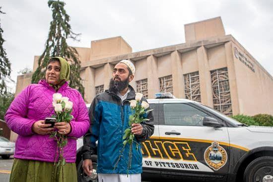 'Respond to evil with good': Muslim community raises money ...
